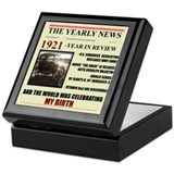 born in 1921 birthday gift Keepsake Box