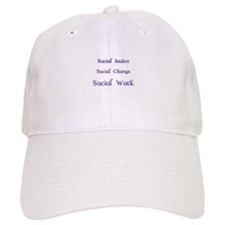 Cute School social worker Baseball Cap