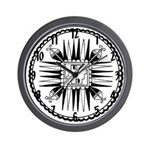 Southwest Indian Wall Clock