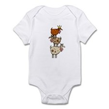 goat stack Infant Bodysuit