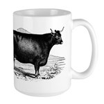 "Devon Cow ""Nemophilla"" large mug"