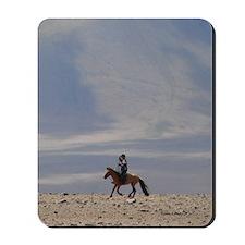 Mongolian Horseman Mousepad