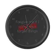 Forgive me... Large Wall Clock