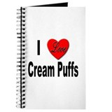 I Love Cream Puffs Journal