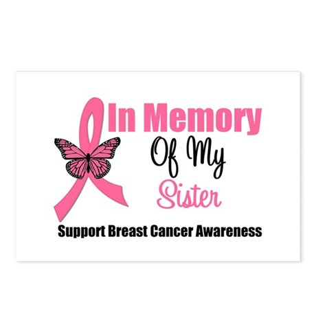 In Memory of My Sister Postcards (Package of 8)