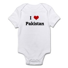 I Love Pakistan Infant Bodysuit