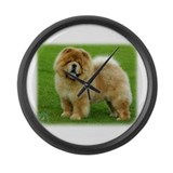 Chow Chow 9B008D-06 Large Wall Clock