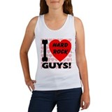 I Love Hard Rock Guys Women's Tank Top