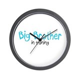 Big Brother in Training Wall Clock