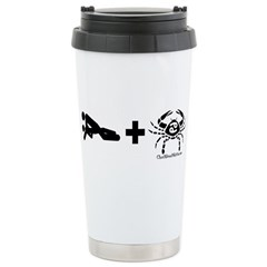 Fuck Cancer Ceramic Travel Mug