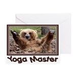 Yoga Master Greeting Card