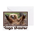 Yoga Master Greeting Cards (Pk of 10)