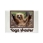Yoga Master Rectangle Magnet (10 pack)