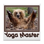 Yoga Master Tile Coaster