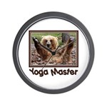 Yoga Master Wall Clock