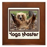 Yoga Master Framed Tile
