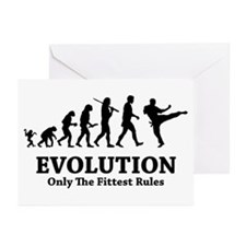Fighter Rules Greeting Cards (Pk of 10)