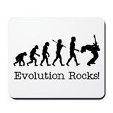 Evolution Rocks Mousepad