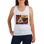 Santa's Corgi (#3P) Women's Tank Top