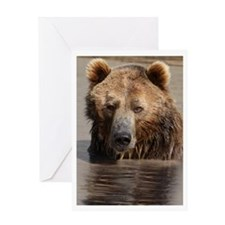 Grizzled Greeting Card