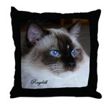 Ragdoll Throw Pillow