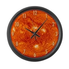 Sun (#s) Large Wall Clock