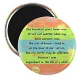 "100 Years 2.25"" Magnet (10 pack)"