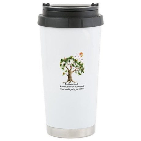 Kenyan Nature Proverb Ceramic Travel Mug