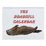Roadkill Wall Calendar