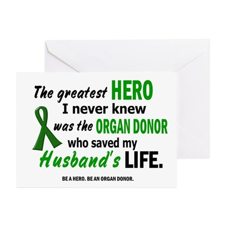 Hero I Never Knew 1 (Husband) Greeting Cards (Pk o