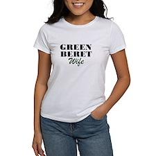Green Beret Wife Tee