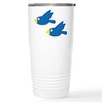 Twin Parent Birds Ceramic Travel Mug