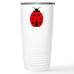 Ladybug Ceramic Travel Mug