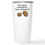 Stays at Grandmas! Ceramic Travel Mug