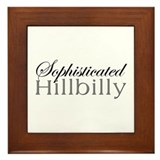 Sophisticated Hillbilly Framed Tile