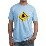 Bagpipe Player Crossing Shirt