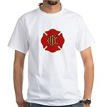 Chicago Fire White T-Shirt