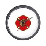 Chicago Fire Wall Clock