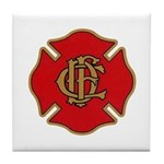 Chicago Fire Tile Coaster