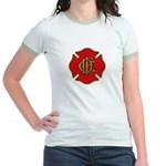 Chicago Fire Jr. Ringer T-Shirt