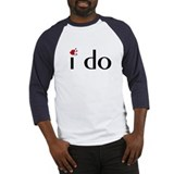 I Do (Lips) Baseball Jersey