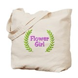 Flower Girl (ferns) Tote Bag