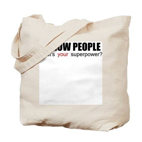 I grow people Tote Bag