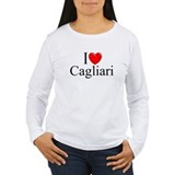 """I Love (Heart) Cagliari"" T-Shirt"