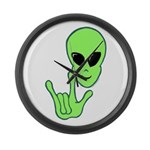 ILY Alien Large Wall Clock