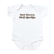 Half-Quokka Infant Bodysuit