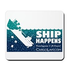 """Ship Happens"" Mousepad"