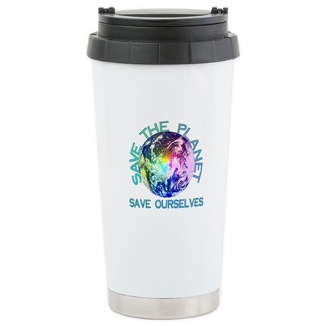 Save The Planet Ceramic Travel Mug