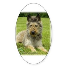 Belgian Shepherd (Laekenois) Oval Decal