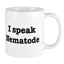 I speak Nematode Coffee Mug